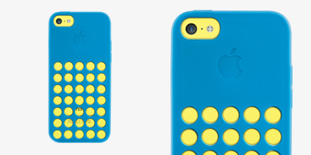 Capa Silicone Apple Azul